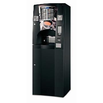 Máquina de café com moedas ou fichas