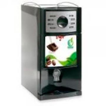 Máquina de café e chocolate