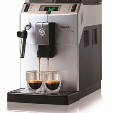 Máquina de café em grãos